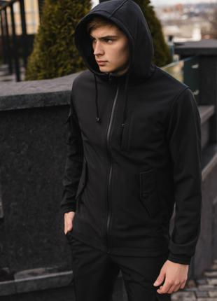 "Куртка Softshell ""Intruder"" черная."
