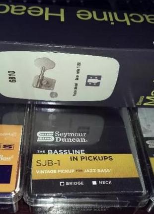 Seymour Duncan SJB-1N, SJB-1 ,бридж колки для бас гитар