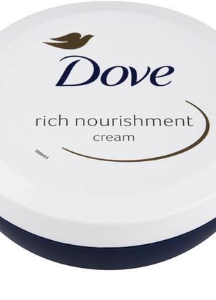 Питательный крем dove rich nourishment cream англия