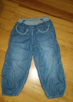 Тонкие джинсы на девочку
