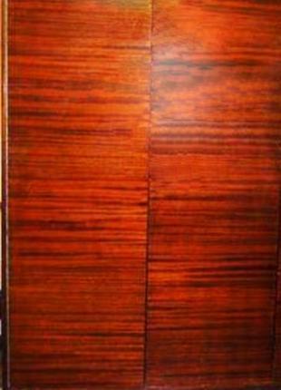 Шкаф деревянный, лакированный, двухдверный СССР