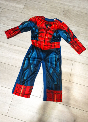 Костюм человека паука на 3-4 года