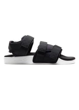 Сандалии мужские adidas adilette 1.0 черные / босоножки босоні...