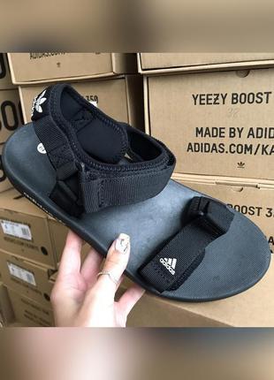Сандалии мужские adidas adilette 3.0 черные / босоножки босоні...