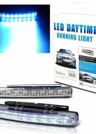 Светодиодные автомобильные фары дневного света на 8 LED
