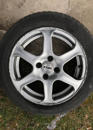 Диски Rial R15 4x100 Opel Renault Mazda