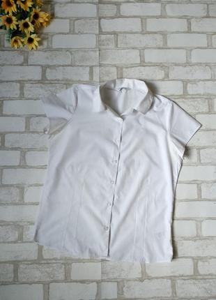 Блузка белая подростковая marks&spencer
