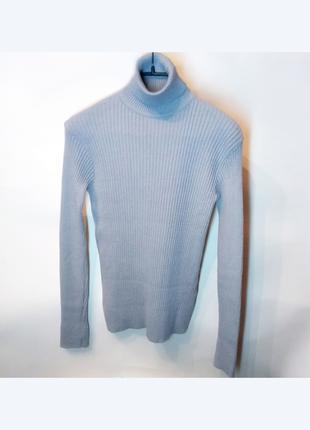 Гольф водолазка блакитно-сірий розмір M-XL