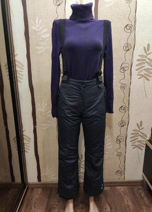 Crivit sports зимние лыжные штаны, полукомбинезон с подтяжками
