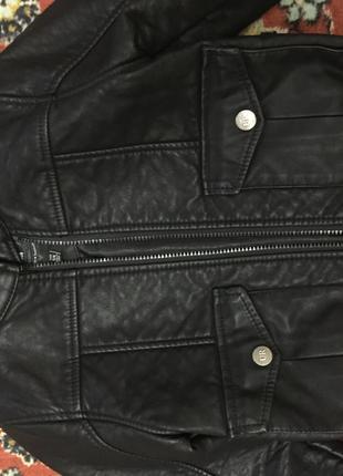 Куртка кожаная на мальчика