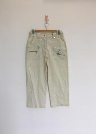 Легкие удобные тонкие повседневные брюки с молниями