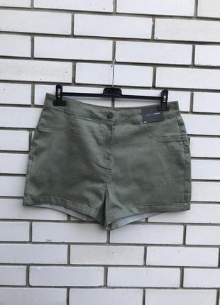Новые джинсовые шорты,хаки,большой размер, батал papaya