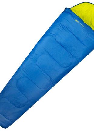 Спальний мішок Martes Penelo 190 Cиній з зеленим MTS-PENELO-BLUEL