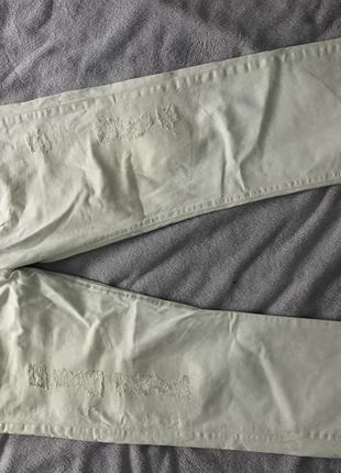 Джинсы Levi's 50-52 классические белые