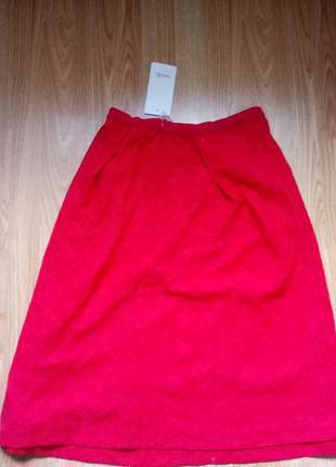 Красная юбка Oodji
