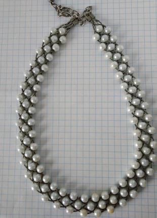 🌷 бусы бусики ожерелье колье жемчуг искуственный ретро винтаж ...