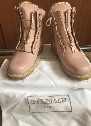 Balmain.стильные ботинки