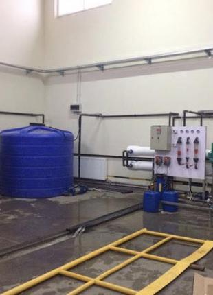 Обратный осмос, очистка воды, фильтрация