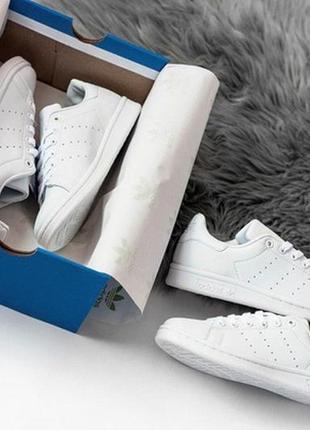 Женские белые кроссовки адидас adidas stan smith white.