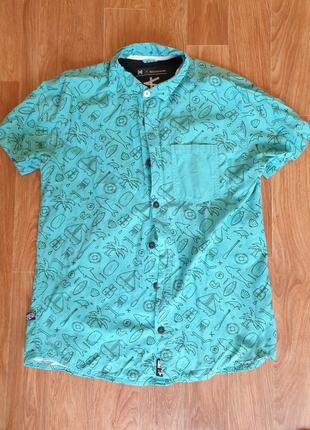 Мужская рубашка Cropp с коротким рукавом