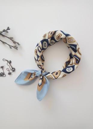 Стильный платочек шейный аксессуар для волос лента, бант для с...