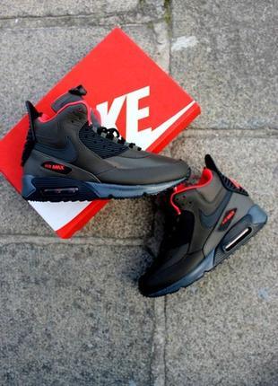 ❄️классные мужские кроссовки найк❄️зимние nike air max 90 snea...