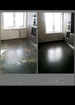 Уборка квартир,домов.