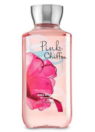 Гель для душа Bath and Body Works Pink Chiffon Shower Gel