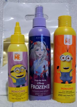 Детский набор:шампунь-кондиционер, краски д/купания,спрей д/волос