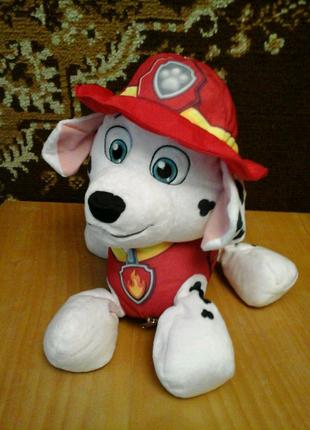 Подушка превращается в игрушку Маршал щенячий патруль Nickelodeon