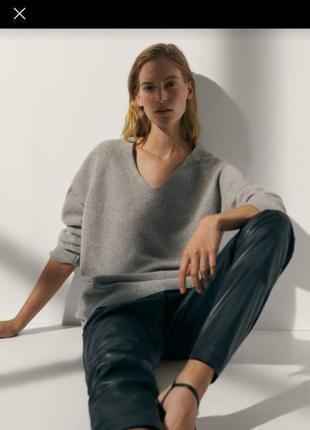 Пуловер из полушерсти, италия