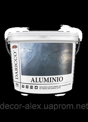 """Daricco """"Aluminio"""" Декоративный жидкий алюминий 5 кг."""