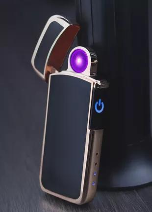 Эксклюзив! Отличный подарок! USB зажигалка с круговой дугой.