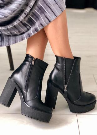 Ботинки женские зима и деми