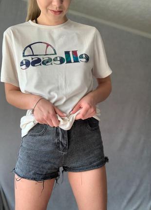 Женская удлиненная футболка Ellesse