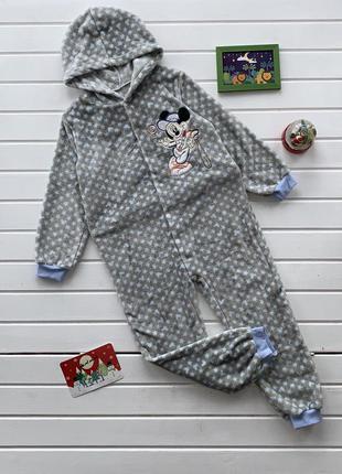 Кигуруми с капюшоном детский микки маус