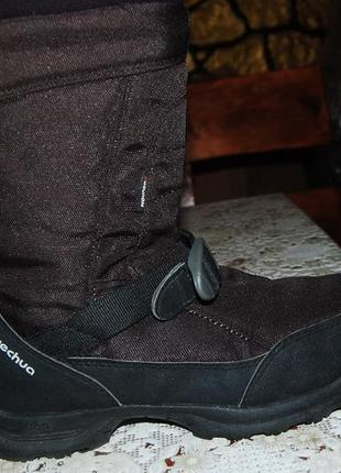 Зима ботинки quechua 38 размер