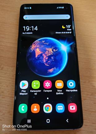 Samsung Galaxy S10 SM-G973U 8/128 Gb Оригинал с трещинкой