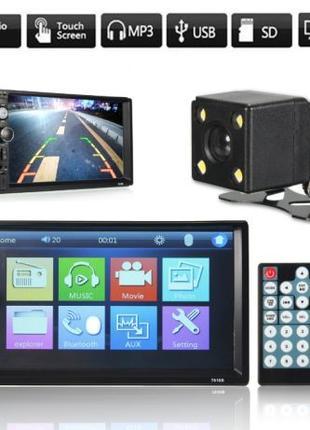 2Din автомагнитола iMars 7010B с камерой заднего вида в комплекте