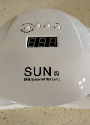 Лампа для ногтей UV+LED SUN X мощностью 54W