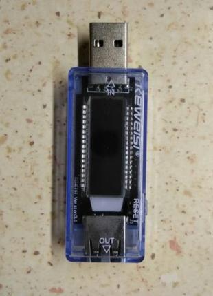 USB тестер Keweisi KWS V20 (для измерения емкости, напряжения,...