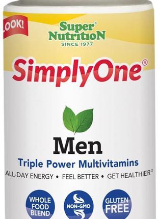 SimplyOne Men 90 т. Витамины, минералы, антиоксиданты для мужчин