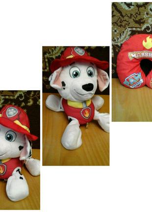 Подушка трансформируется в игрушку Маршал щенячий патруль Nickelo