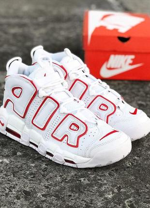 Мужские кроссовки nike air more uptempo '96 'varsity red'