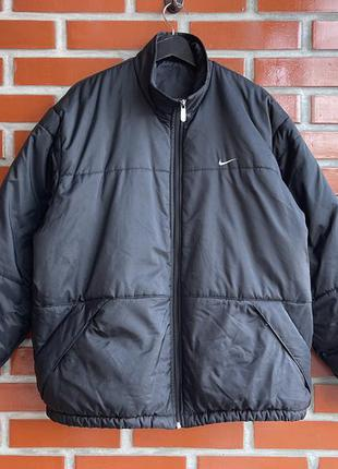 Nike vintage оригинал мужская винтажная куртка размер l найк б у