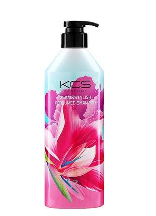 Парфюмированный шампунь для волос
