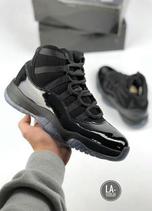 Мужские кроссовки nike air jordan 11 black
