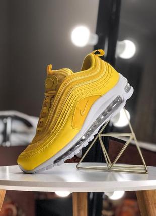 Новый цвет! шикарные женские кроссовки nike air max 97 yellow ...