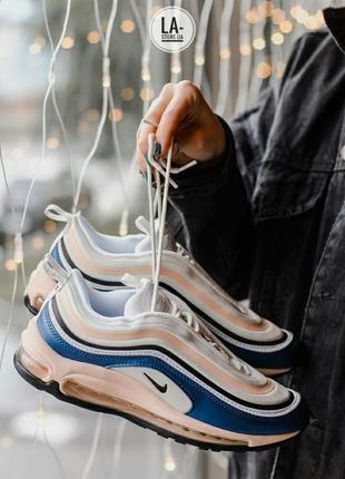 Новая расцветка! шикарные женские кроссовки nike air max 97 bl...