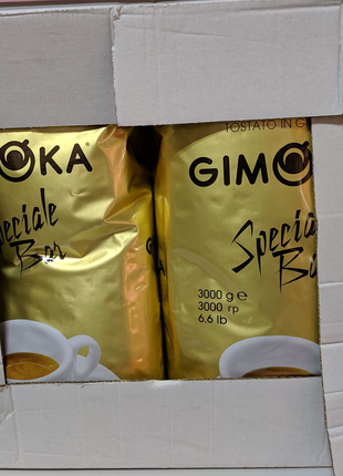 Кава кофе Gimoka Speciale Bar (золота), 3 кг.